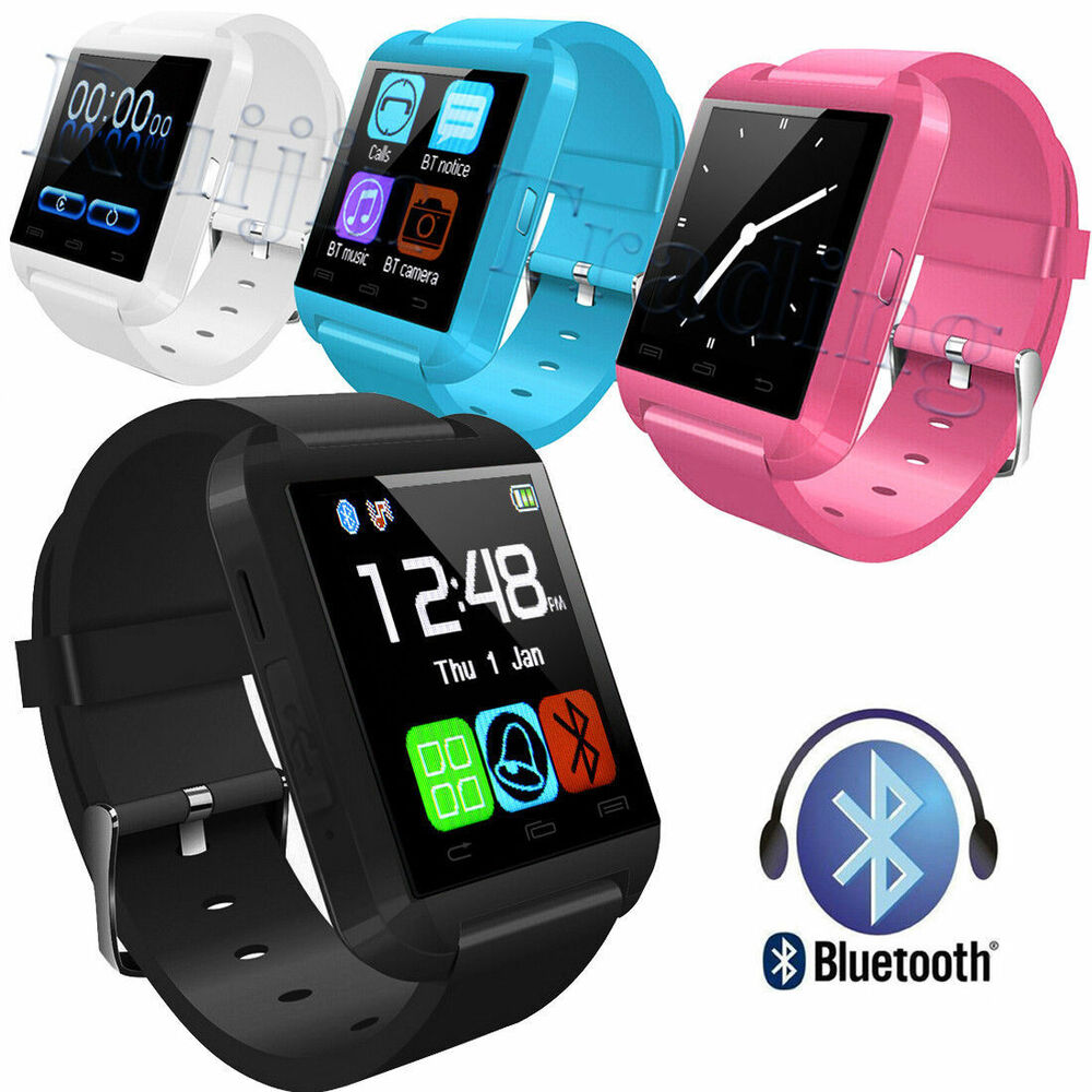 Bluetooth Smart Wrist Watch Smartphone For Mobiles Android ...