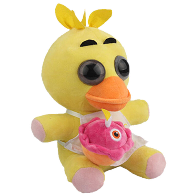 FNAF Five Nights At Freddy's Yellow Chica With Cupcake 10