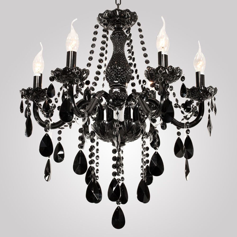 Black Candle Ceiling Lights : Vintage ceiling lamp candle lights lighting fixtures