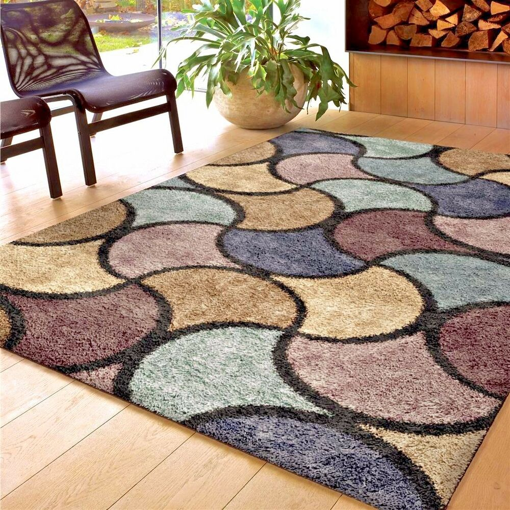 RUGS AREA RUGS 8x10 AREA RUG CARPET SHAG RUG LARGE LIVING