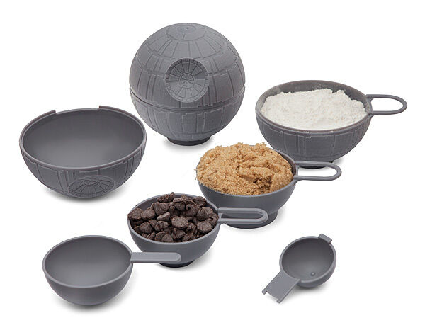Star wars death star measuring cup tablespoon set kitchen for 8 tablespoons to cups