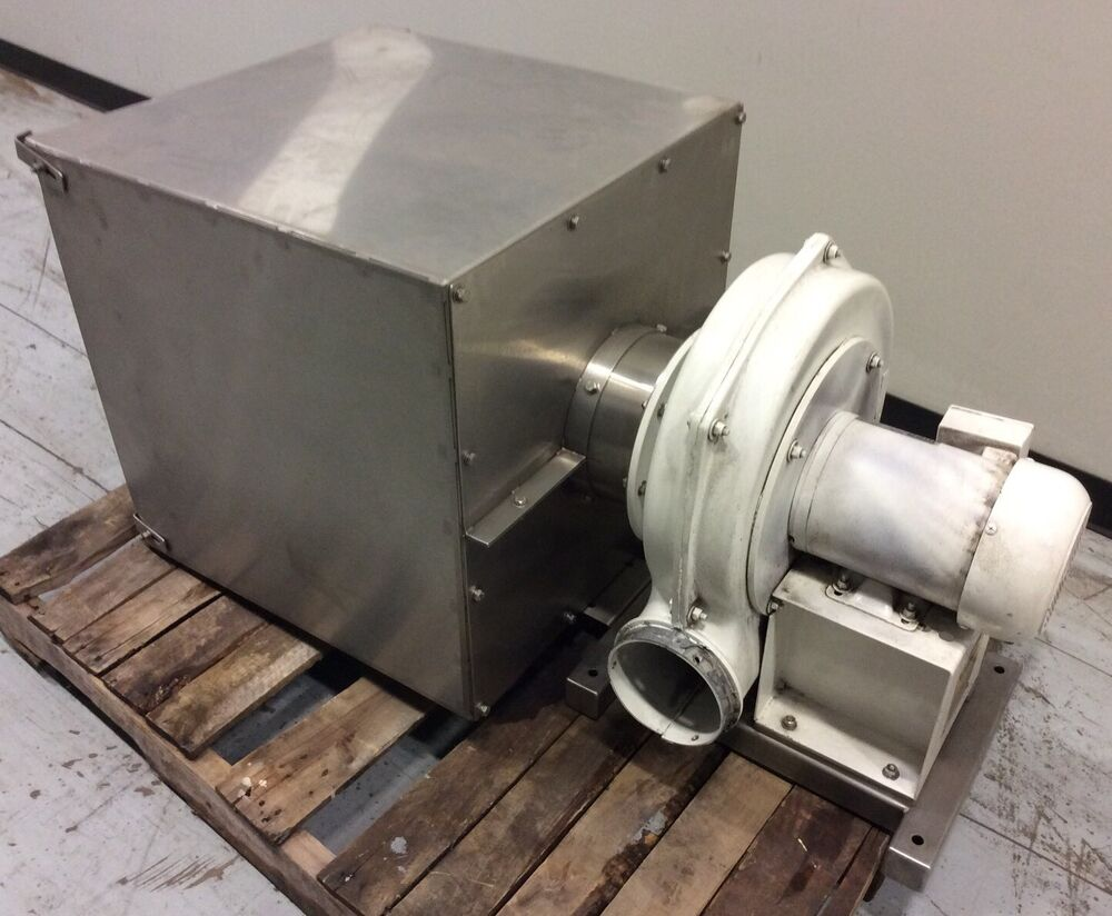 High Pressure Centrifugal Blowers : Chicago blower size high pressure centrifugal