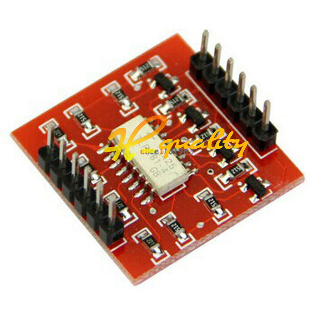 4 Channel Opto Isolator Ic Module Arduino High And Low Level Circuit For Expansion Board Ebay