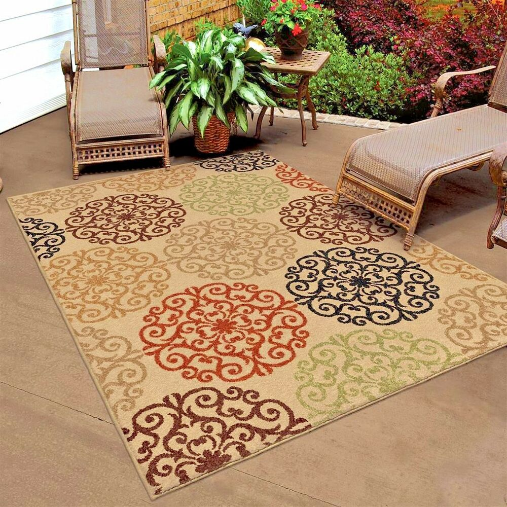 RUGS AREA RUGS OUTDOOR RUGS 8x10 INDOOR OUTDOOR CARPET ... - photo#9