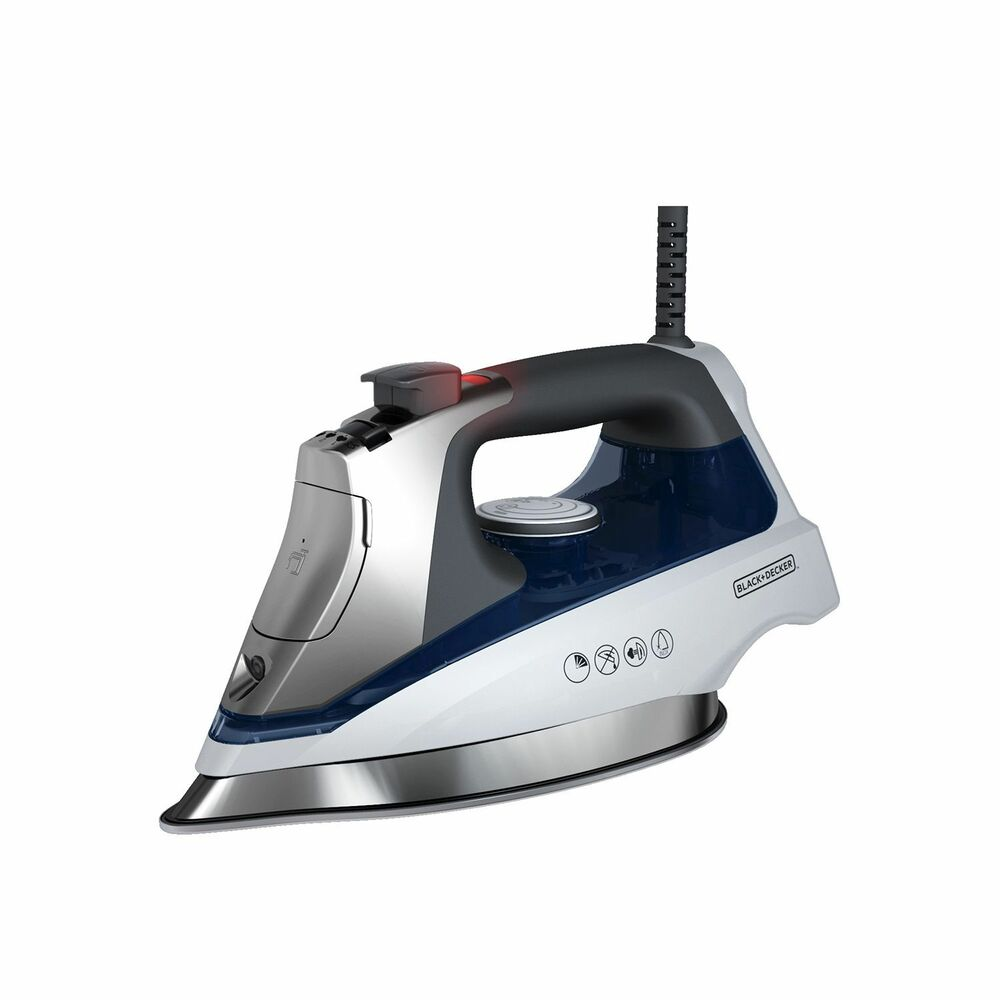 Steam Iron For Clothes ~ Black decker allure steam iron new ebay