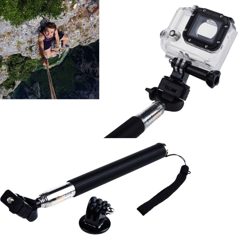 Selfie Stick Monopod Holder Extendable Handheld For GoPro