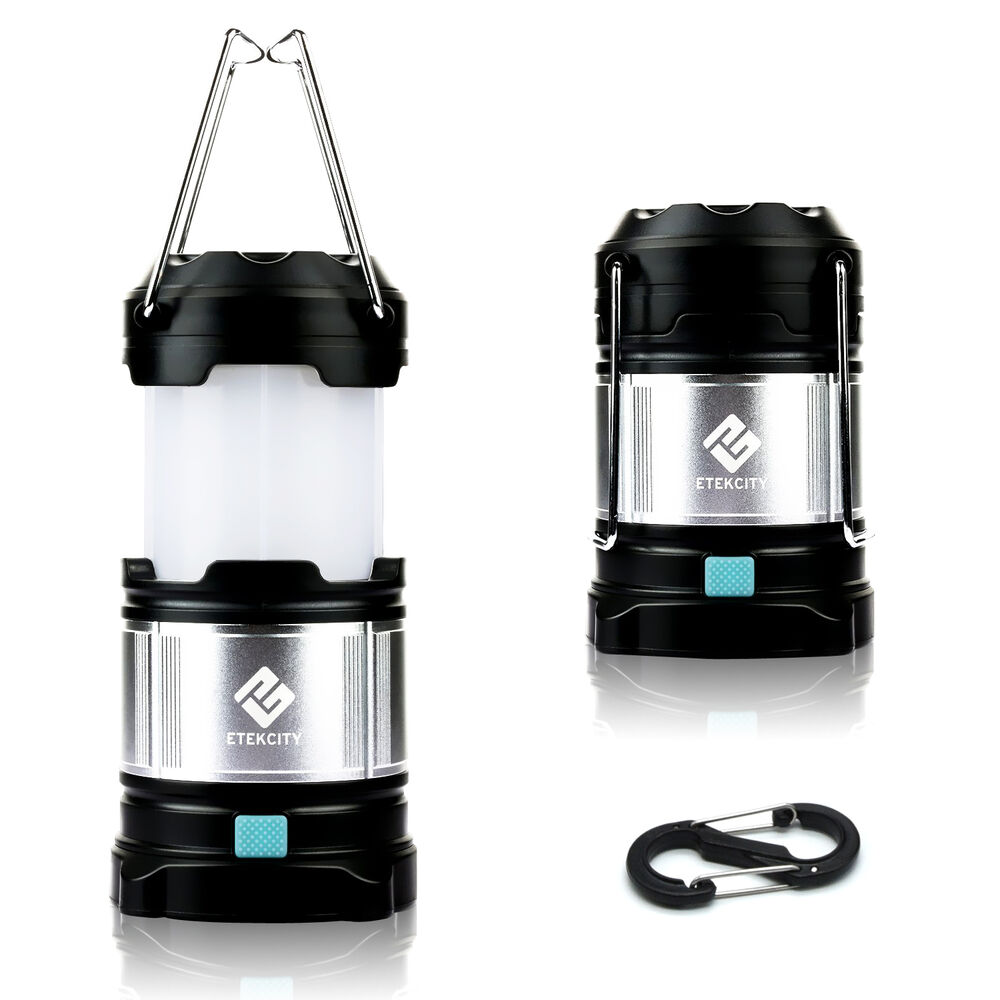 etekcity portable rechargeable led camping lantern hiking flashlight night light ebay. Black Bedroom Furniture Sets. Home Design Ideas