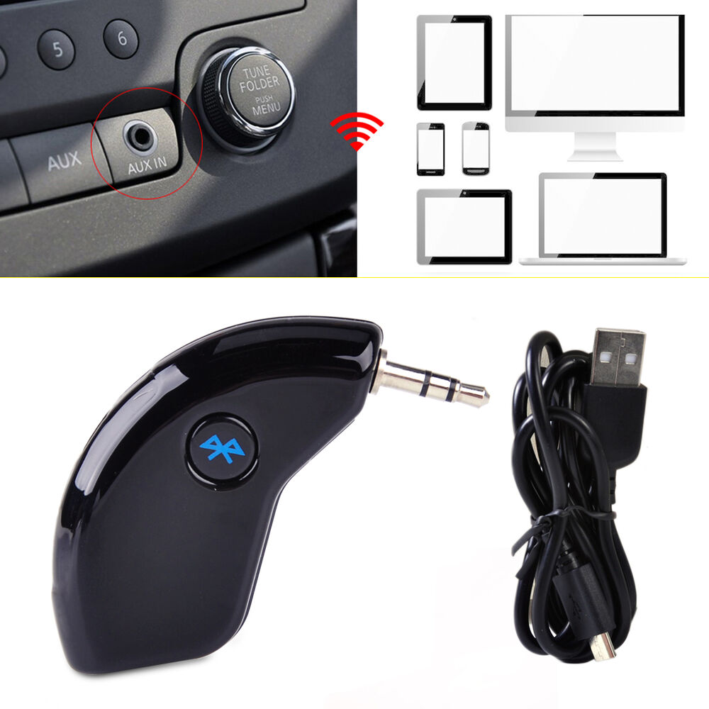 3.5MM Wireless Bluetooth Receiver Adapter AUX Audio Stereo Music Home Car Phone