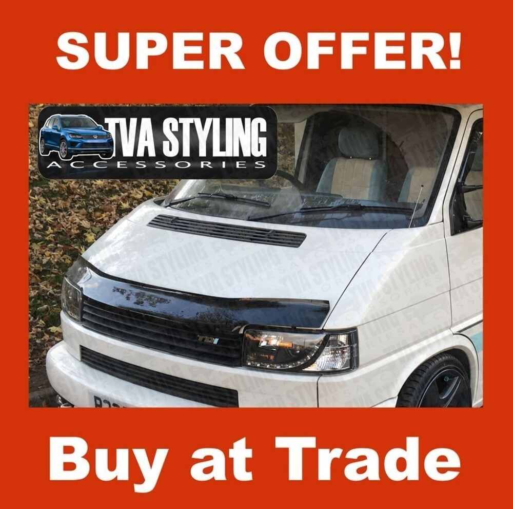 vw t4 transporter bonnet guard bonnet protector wind bug. Black Bedroom Furniture Sets. Home Design Ideas