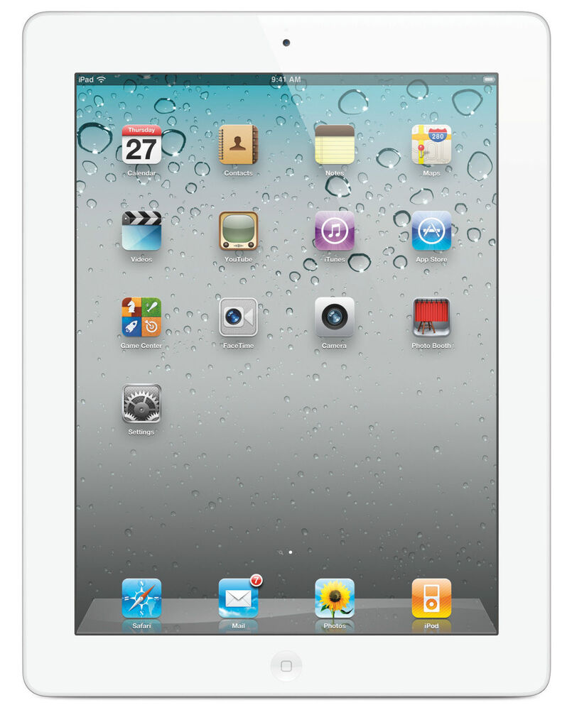 apple ipad 2 16gb wi fi 9 7in white mc979ll a ebay