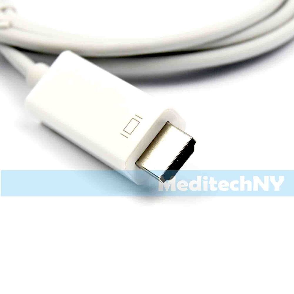 new 1 8m 6ft dock connector to hdmi cable adapter for ipad2 3 iphone 4 4s ipod ebay. Black Bedroom Furniture Sets. Home Design Ideas