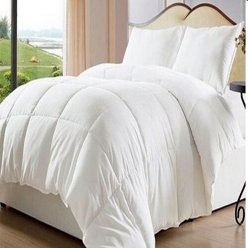 bed in a bag white down alternative comforter duvet cover insert elegant queen ebay. Black Bedroom Furniture Sets. Home Design Ideas