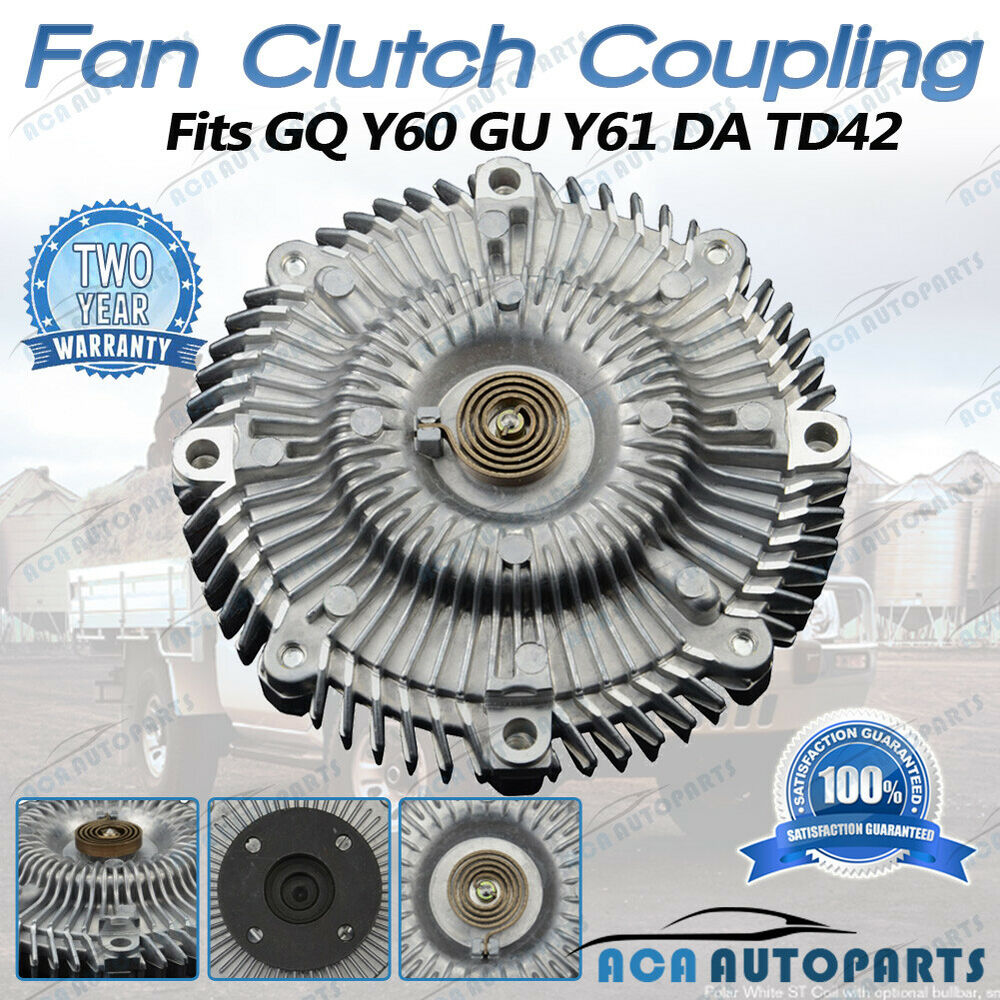 viscous fan clutch hub for nissan patrol gq y60 gu y61 4. Black Bedroom Furniture Sets. Home Design Ideas