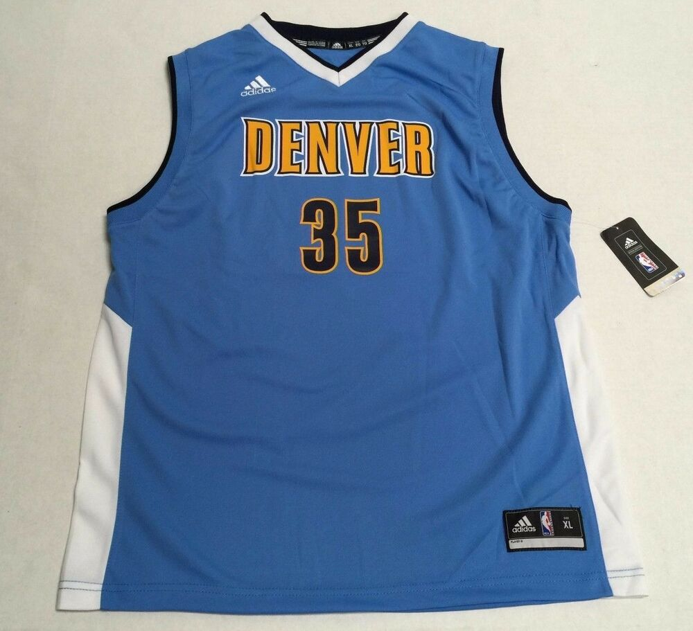 Adidas Kenneth Faried Denver Nuggets #35 Official NBA