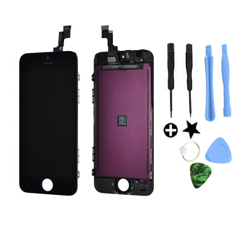 iphone 5s lcd black lcd display touch screen digitizer assembly 6036