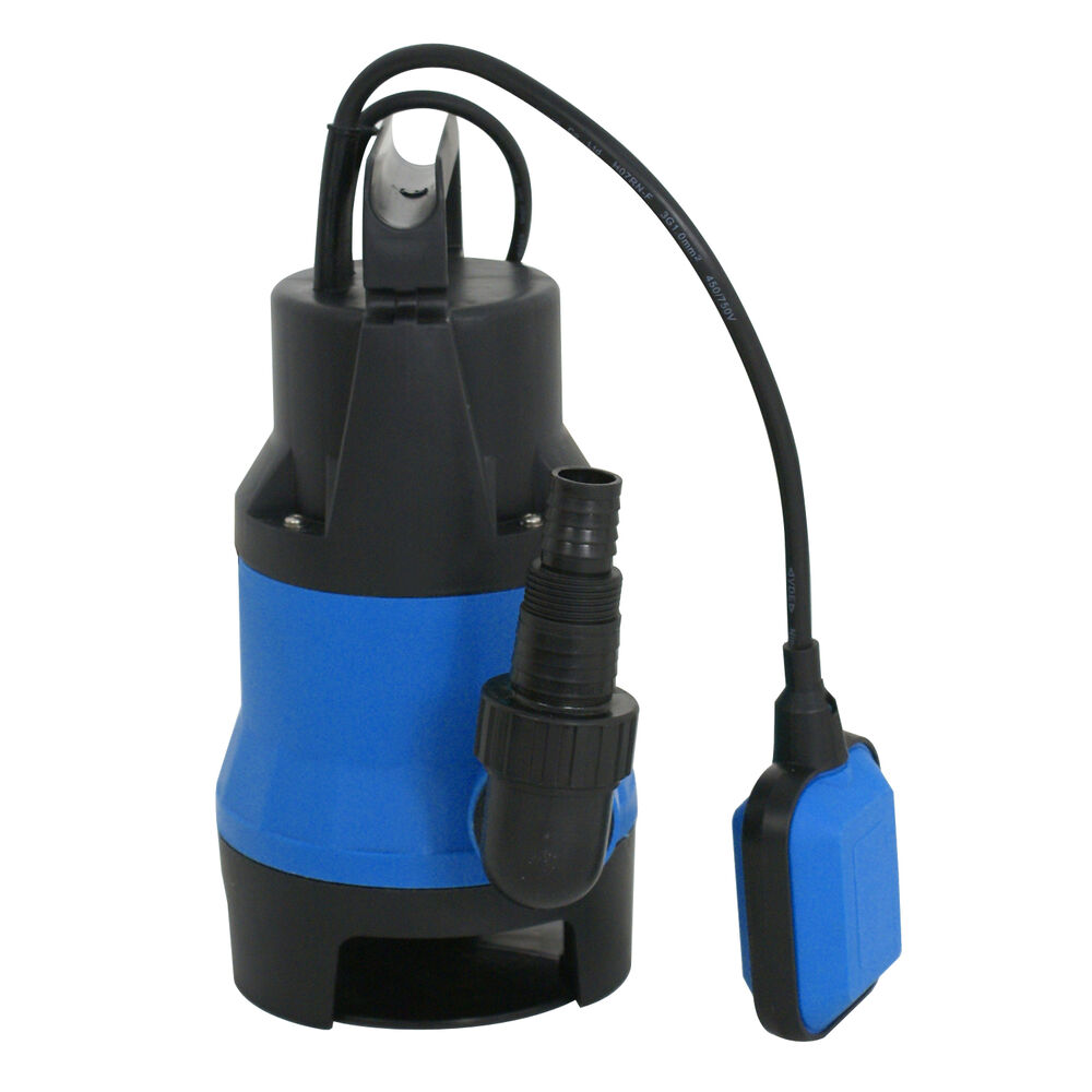 Submersible water pump anjon 2000 gph asynchronous for Pond water pump
