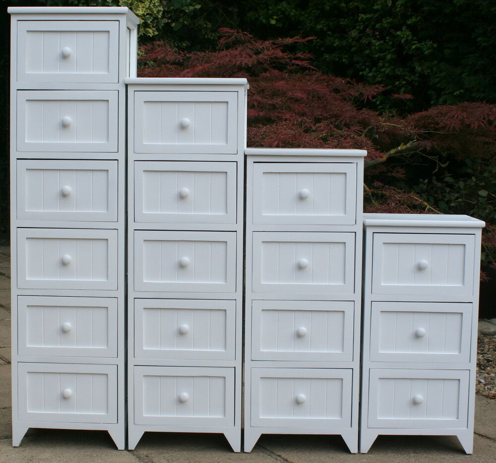 Ideal for the bathroom tall 3 4 5 6 drawer for White wooden bathroom drawers