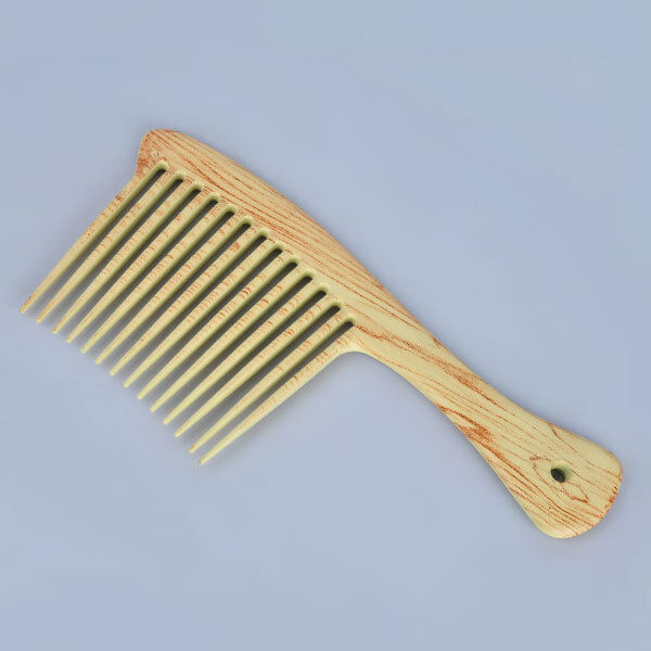 Wooden Large Wide Tooth Home Use Hair Detangling