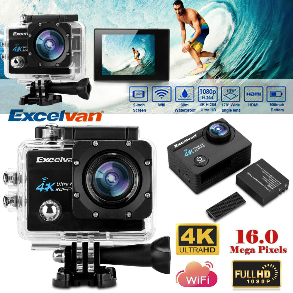 wasserdicht wifi 4k hd 1080p 16mp action cam dv. Black Bedroom Furniture Sets. Home Design Ideas