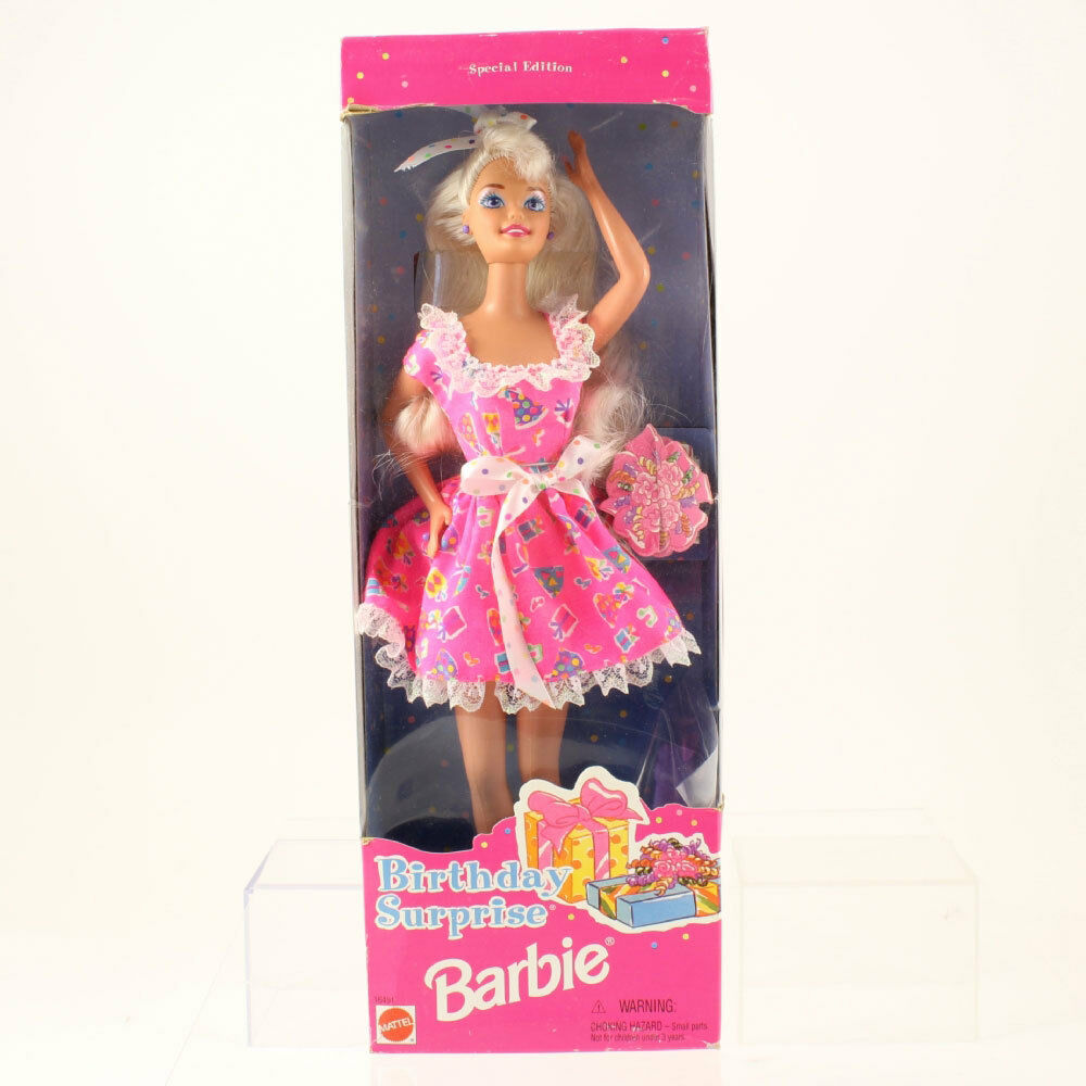 1996 Birthday Surprise Barbie *NM