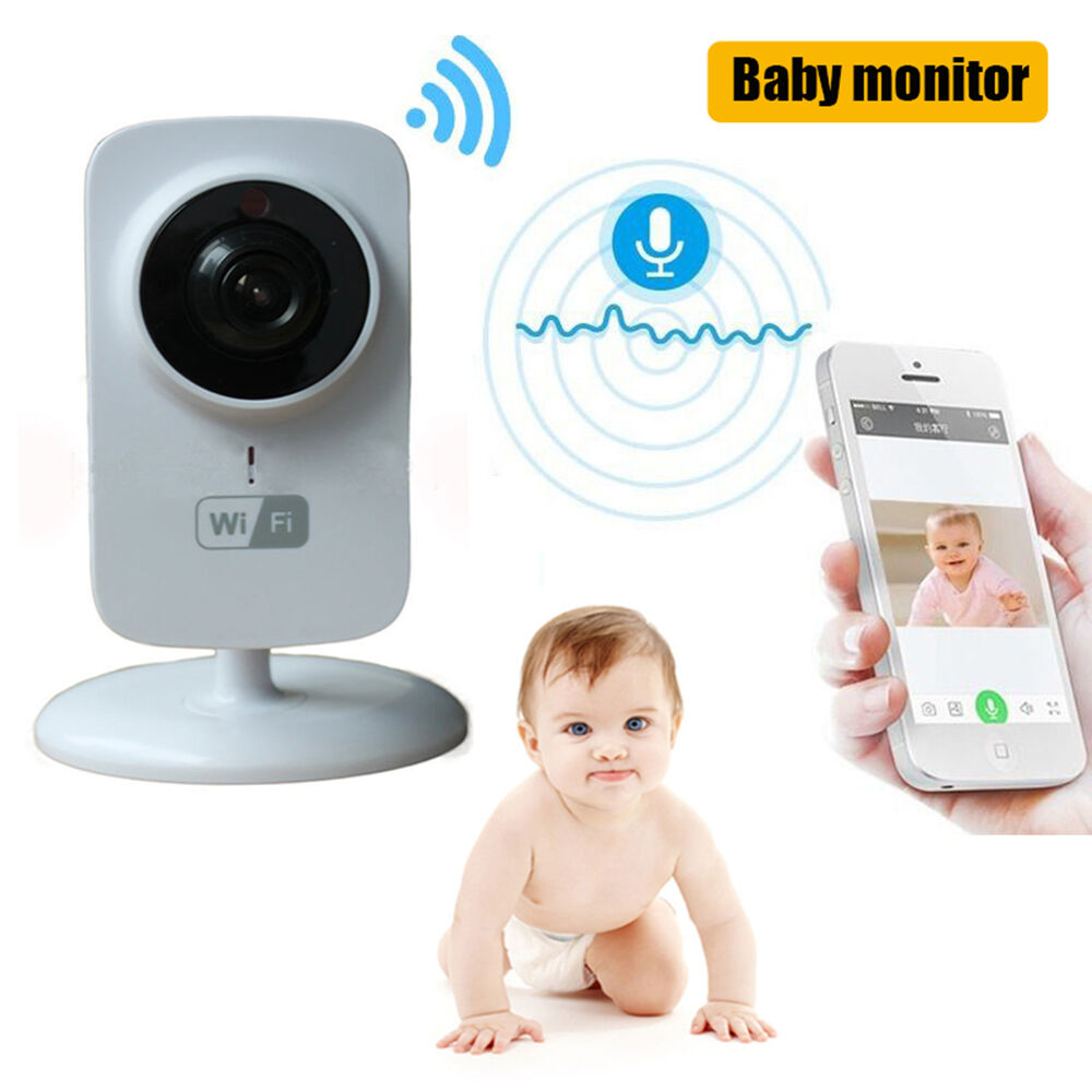 ip wireless wifi baby monitor video camera night vision. Black Bedroom Furniture Sets. Home Design Ideas