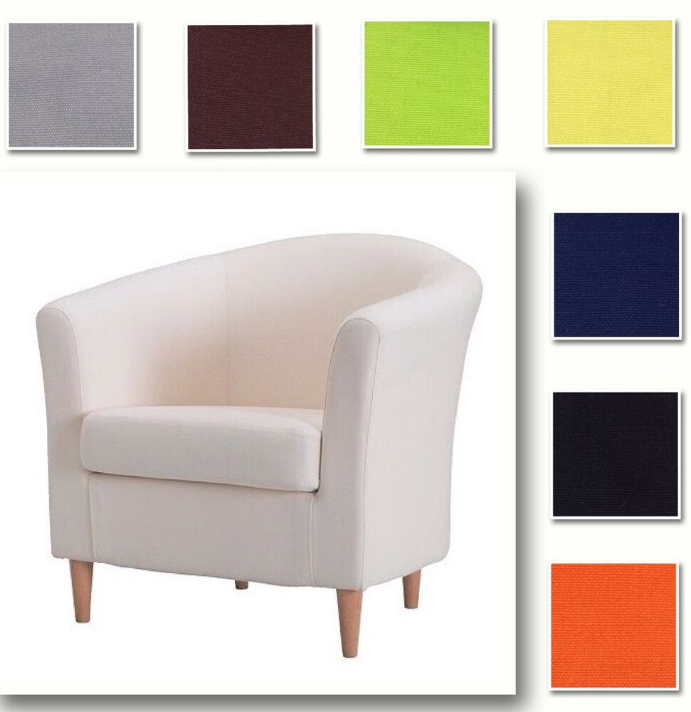 Perfect Custom Made Cover Fits IKEA Ektorp Tullsta Chair, Replace Armchair Cover |  EBay
