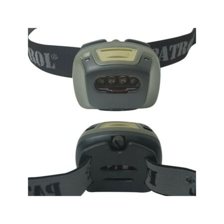 img-LAMPE FRONTALE TACTICAL 4 ULTRA LED ARMÉE MILITAIRE PROFESSIONNEL