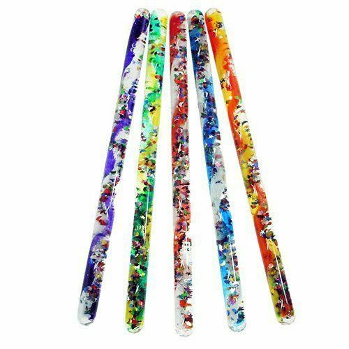 toysmith jumbo spiral glitter wand 12 tube special needs sensory toy ebay. Black Bedroom Furniture Sets. Home Design Ideas