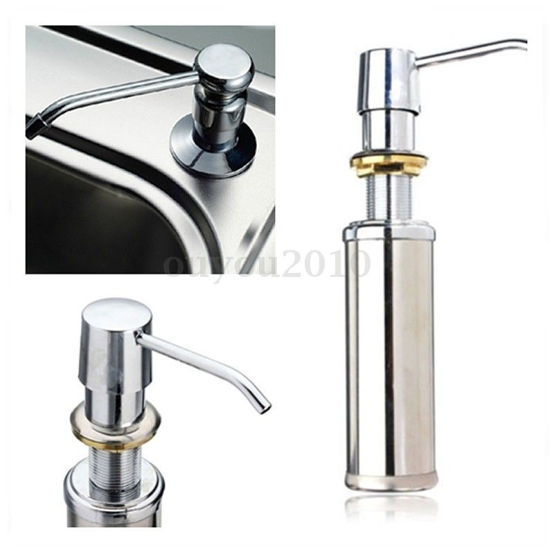 250ml Kitchen Bathroom Faucet Sink Shower Lotion Shampoo Pump Soap Dispenser Ebay