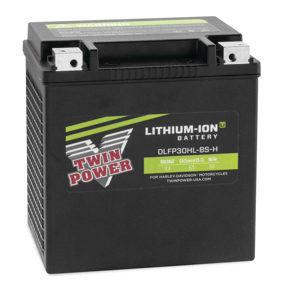 twin power lithium ion li 625 cold cranking amp cca battery harley flh t 30l ebay. Black Bedroom Furniture Sets. Home Design Ideas