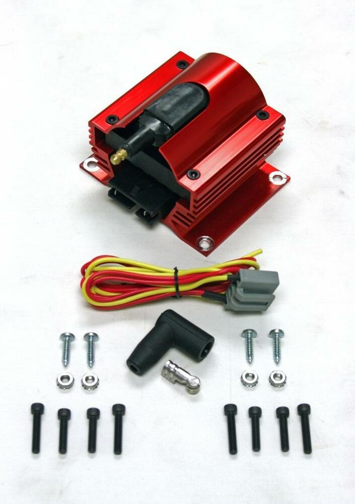12 Volt Red Anodized E
