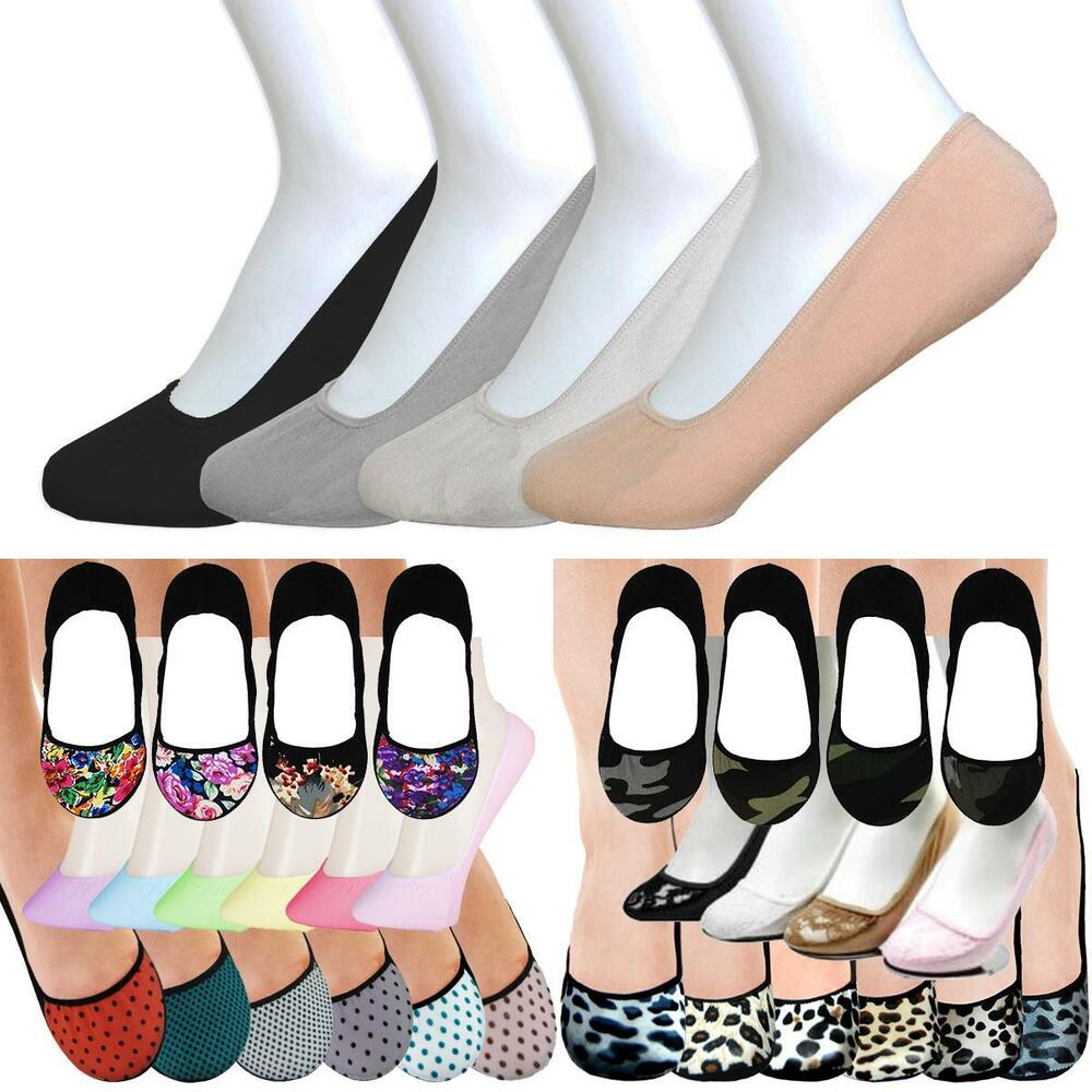 593d25e7ff3f8 Details about 12 Pairs Hidden Shoe Liners Foot Cover Footies No-Show Low  Cut Socks Ballet Flat