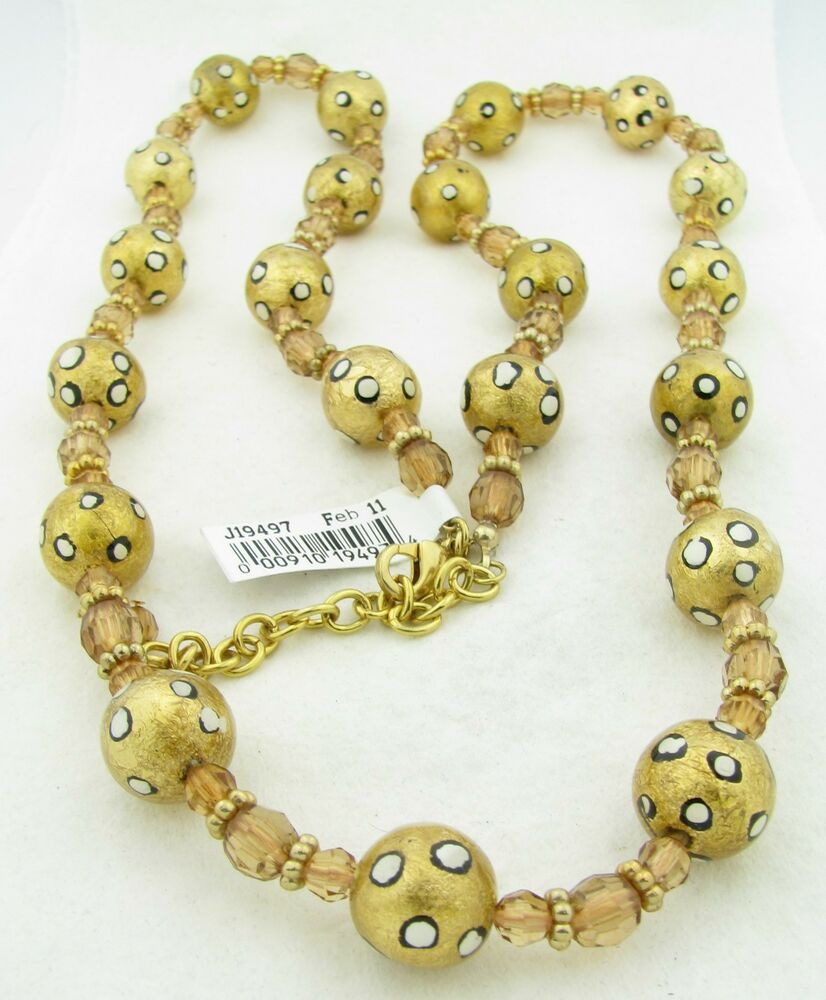 New joan rivers classics collection gold tone 33 3 for Joan rivers jewelry necklaces
