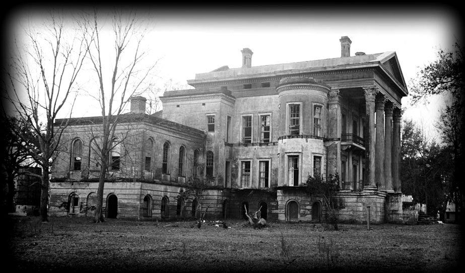 Belle grove plantation architectural home plans for Southern mansion house plans