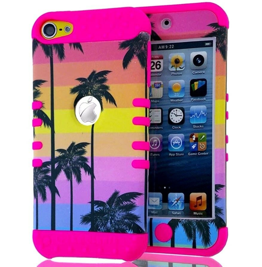 For ipod touch 5th 6th gen hybrid high impact case for Housse ipod touch 5