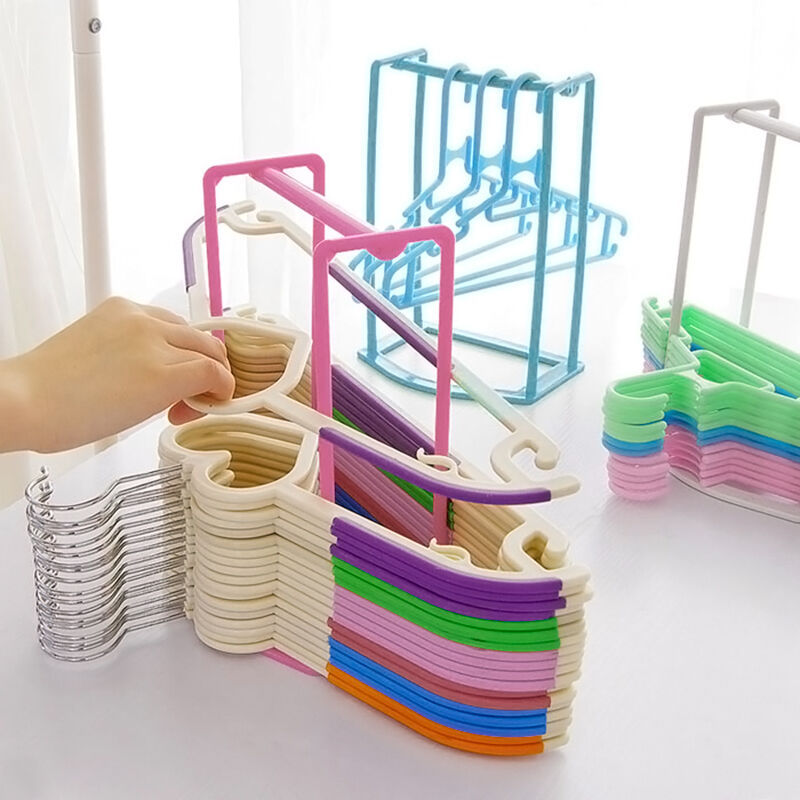 1pc Smart Design Clothes Hanger Stacker Holder Storage