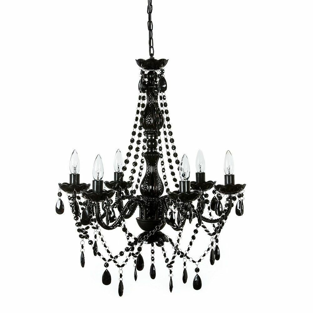 Black Chandelier Fan: Vintage Crystal Chandelier Lighting Ceiling Pendant Lamp