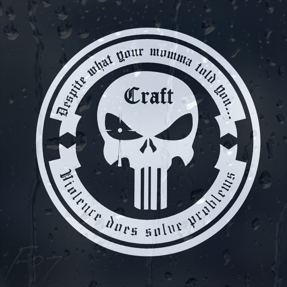 Punisher Skull Craft Despite What Your Momma Told You Car