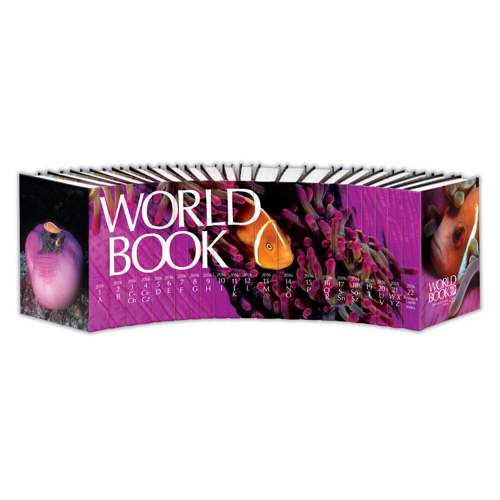 World Book Encyclopedia Set, 2016 Edition - Brand New - 22 ... - photo#27