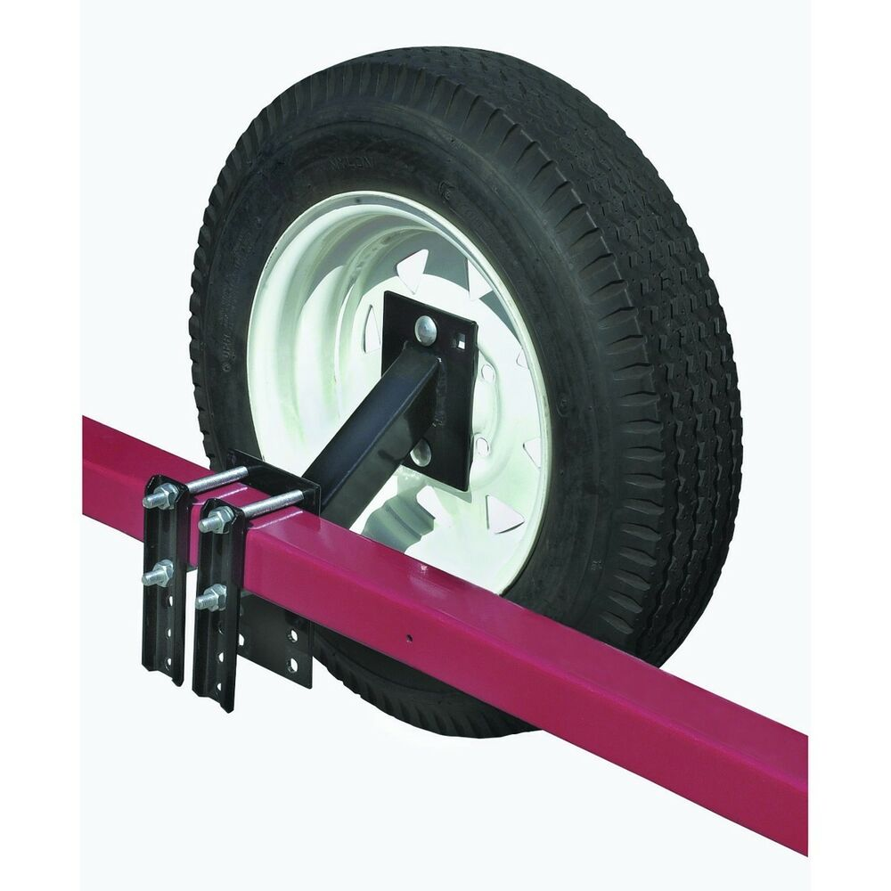 Boat Utility Trailer Spare Tire Carrier Holder Rack Fits