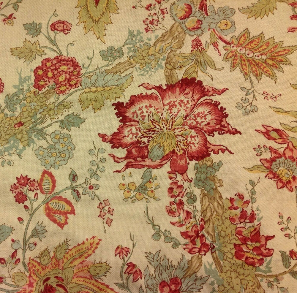 brewster red jacobean floral - photo #31