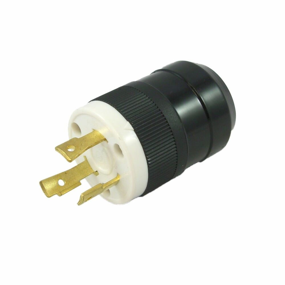 3 Prong Generator Cord : Prong twist lock plug for generator v a power cord
