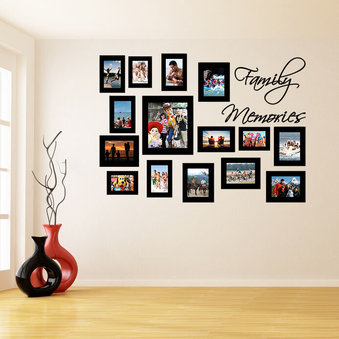 Frames Photo Wall Sticker Family Removable Decal Picture