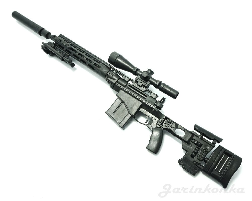 1/6 Scale MSR Sniper Rifle US Army Remington Modular Gun ...
