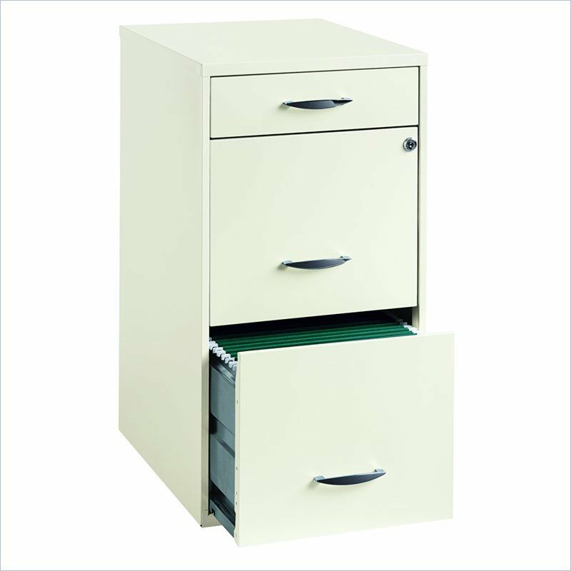 Filing cabinet file storage 3 drawer steel vertical - Vertical tray dividers kitchen cabinets ...
