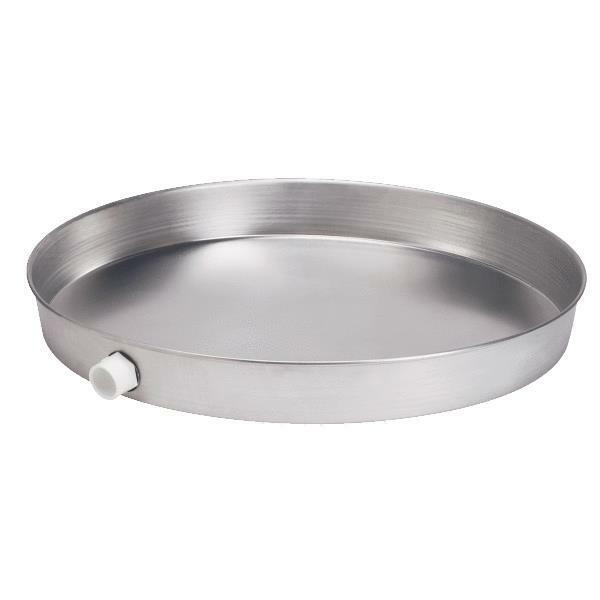 24 Inch Oatey Aluminum Water Heater Drain Pan With 1 Inch