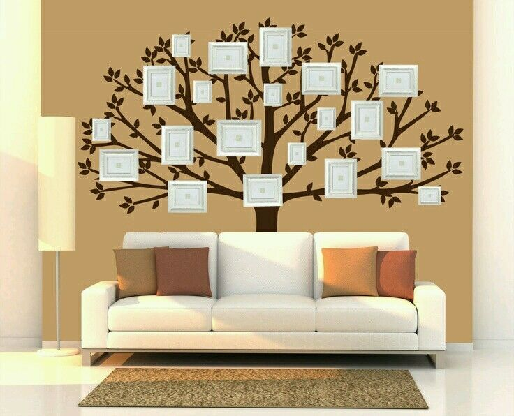 Giant Large Family Tree Vinyl Wall Sticker Art Decal Self