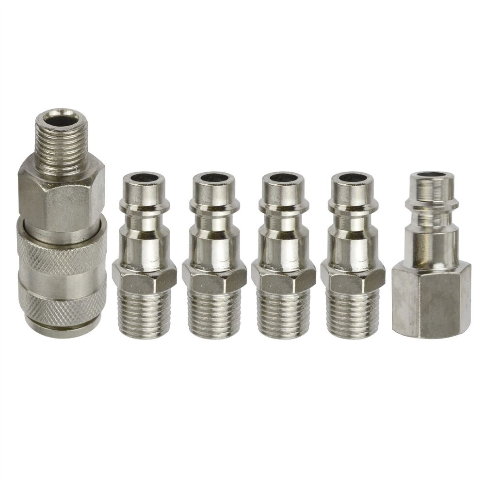 Compressed Air Fittings : Euro air line hose compressor fitting connector quick