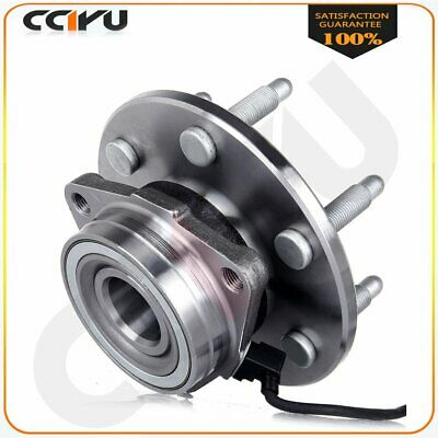 New Front Wheel Hubs Bearings Assembly w/ ABS For Chevy GMC Truck 4X4 4WD AWD