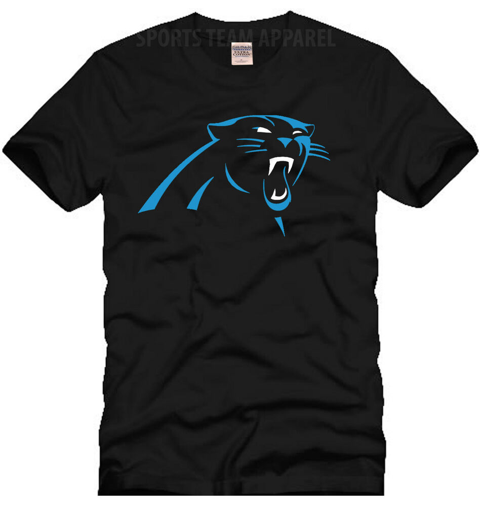 Carolina panthers football jersey t shirt ebay for Shirts with graphics on the back